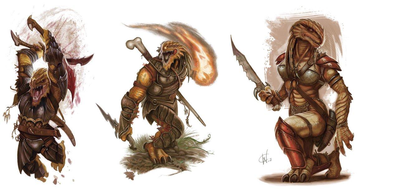 Dragonborn, Race  New Shadow d20